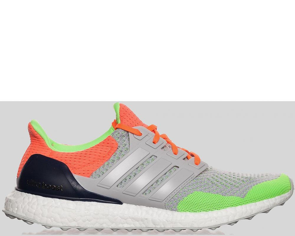d2bd06629d363 All The Sneakers  Kolor x adidas Ultra Boost Grey Solar Orange ...