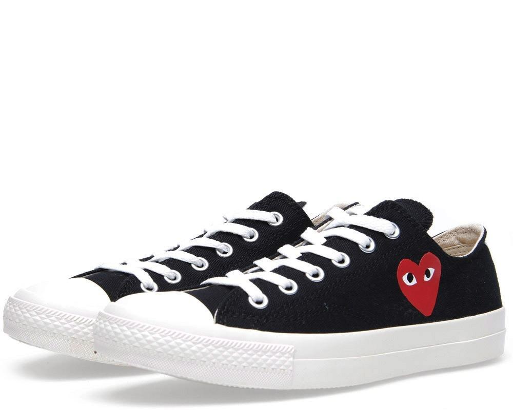 4285ae918948 All The Sneakers  Comme des Garcons Play x Converse All Star Ox ...