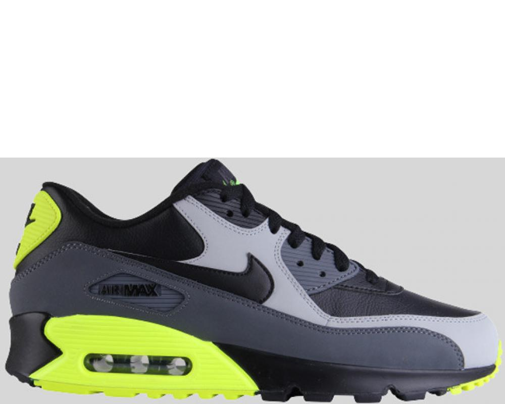 check out 3c9fb 994f8 Back Nike Air Max 90 LTR Black Wolf Grey Dark Grey (Pre-order) (652980-007)