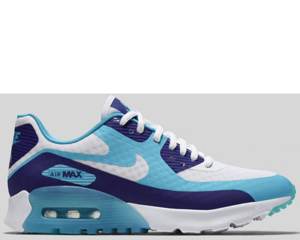 3f550d46 Back Nike Wmns Air Max 90 Ultra BR Deep Royal Blue White Tide Pool Blue  (Pre-order) (725061-400)