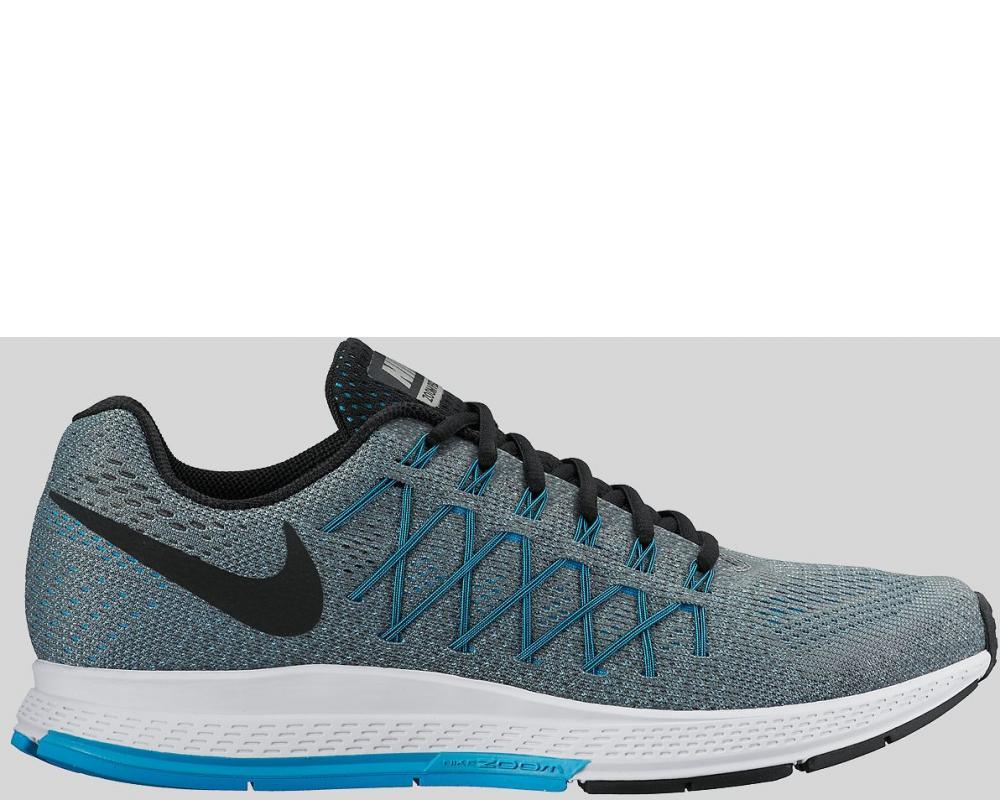 free shipping 6ddc1 4d62a Nike  Nike Air Zoom Pegasus 32 Cool Grey Black Blue Lagoon Preorder (749340-