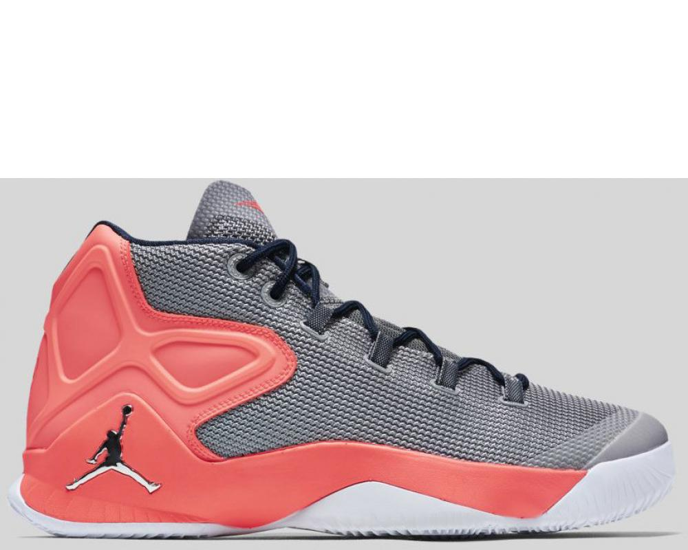 3078867dee2b Nike  Nike Jordan Melo M12 X Wolf Grey Metallic Silver Hyper Orange  Preorder (829219