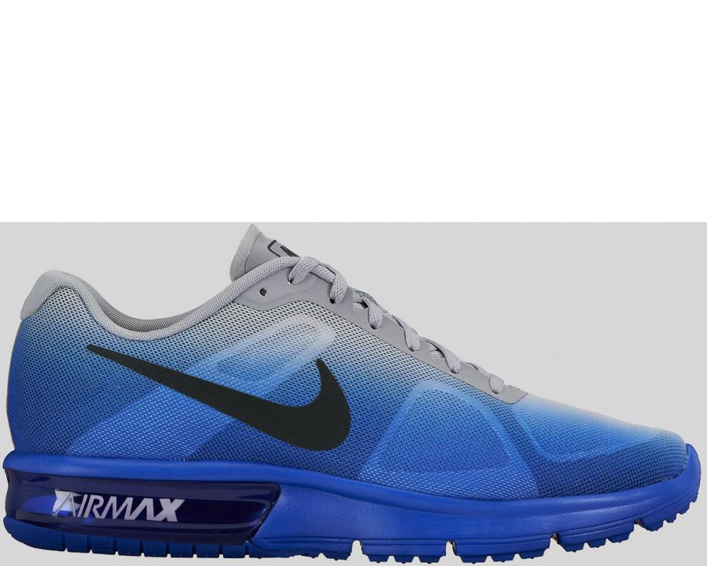 buy online 00c8d 2c605 ... wholesale nike nike air max sequent racer blue wolf grey fade preorder  719912 405 437b9 4fcec