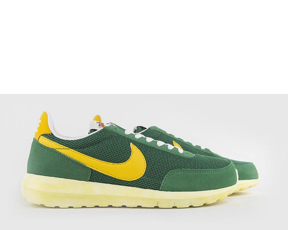 new styles af6d8 43bb9 Nike NIKELAB ROSHE DAYBREAK NM PINE GREEN YELLOW (826666-371)