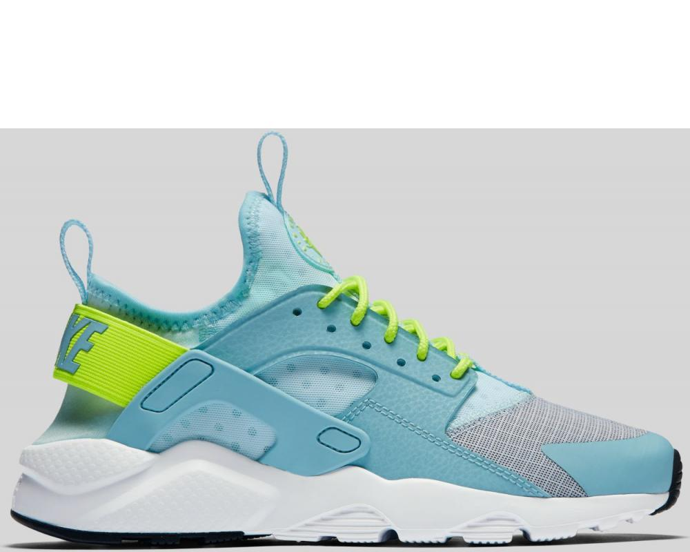 364579228a10b Nike  Nike Air Huarache Run Ultra GS Glacier Blue Volt Mica Blue White  Preorder (