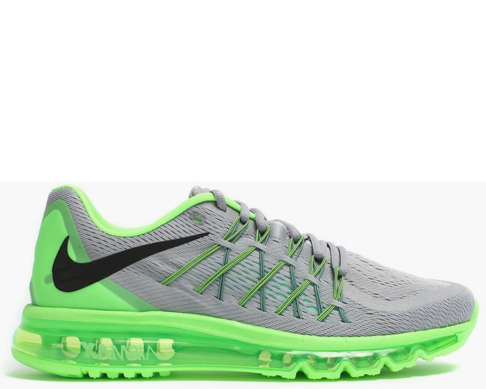 outlet store f3ecf 5c41c Nike Air Max 2015 Wolf Grey Green Glow