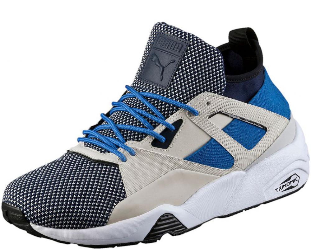 9a1e153612c7 All The Sneakers  Blaze of Glory Sock Tech Men s Sneakers (Puma ...