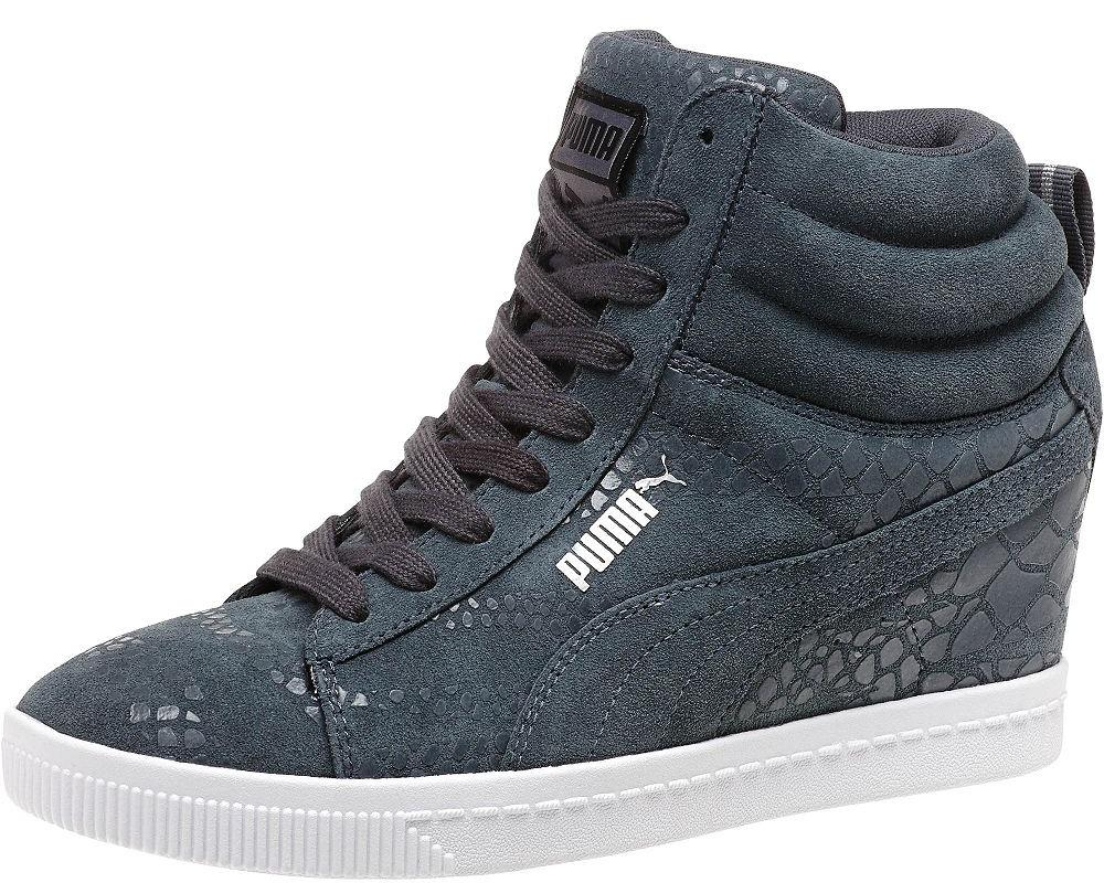 9d8acac351c1 All The Sneakers  Natural Calm Women s Wedge Sneakers (Puma  357333-03)