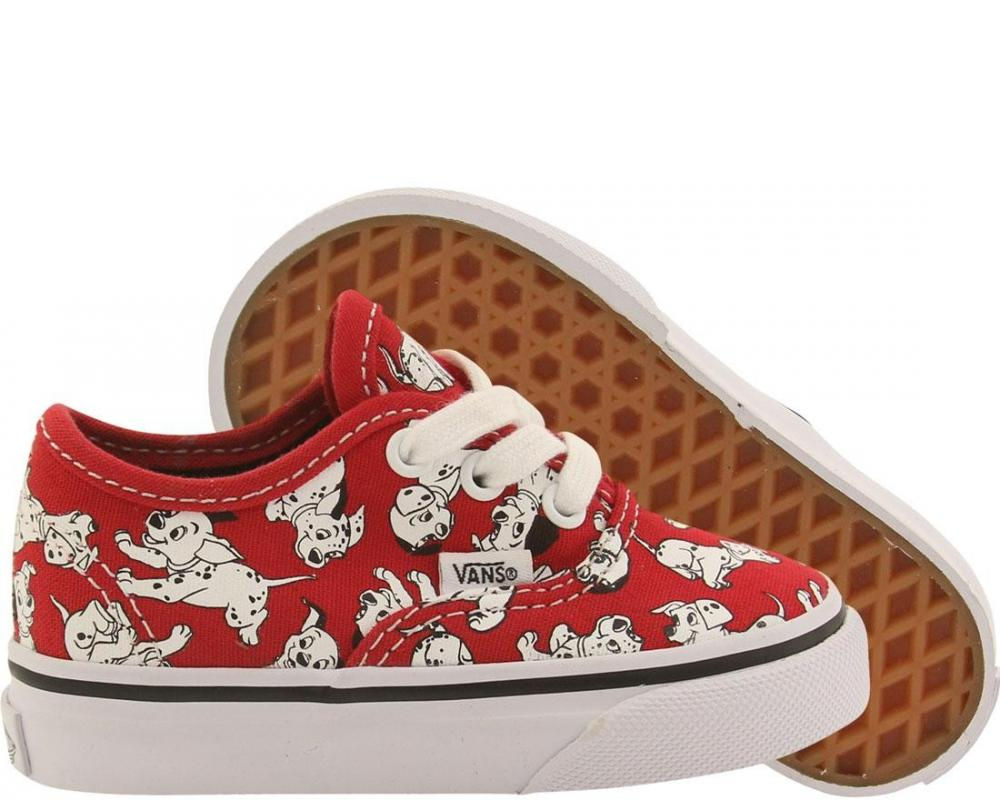 d179e79b77fe All The Sneakers  Vans x Disney Toddlers Authentic - Dalmations ...