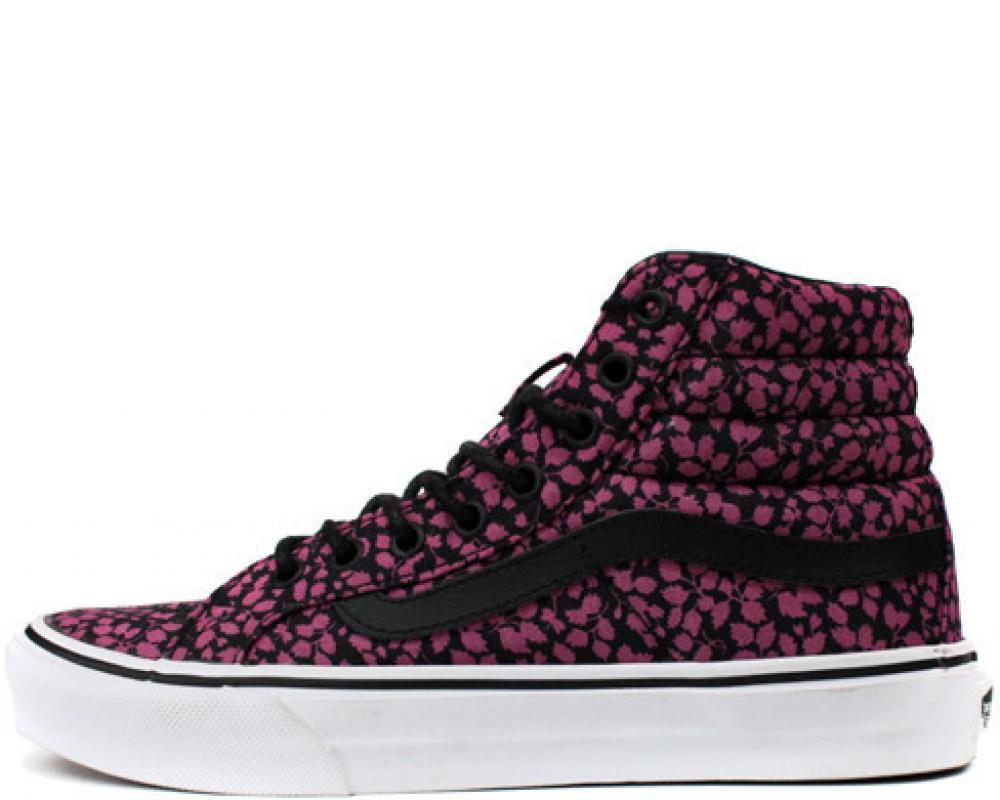 92fd9770f6d830 All The Sneakers  Vans  Sk8 Hi Slim Ditsy Liberty (Vans  VN-0QG39YM)
